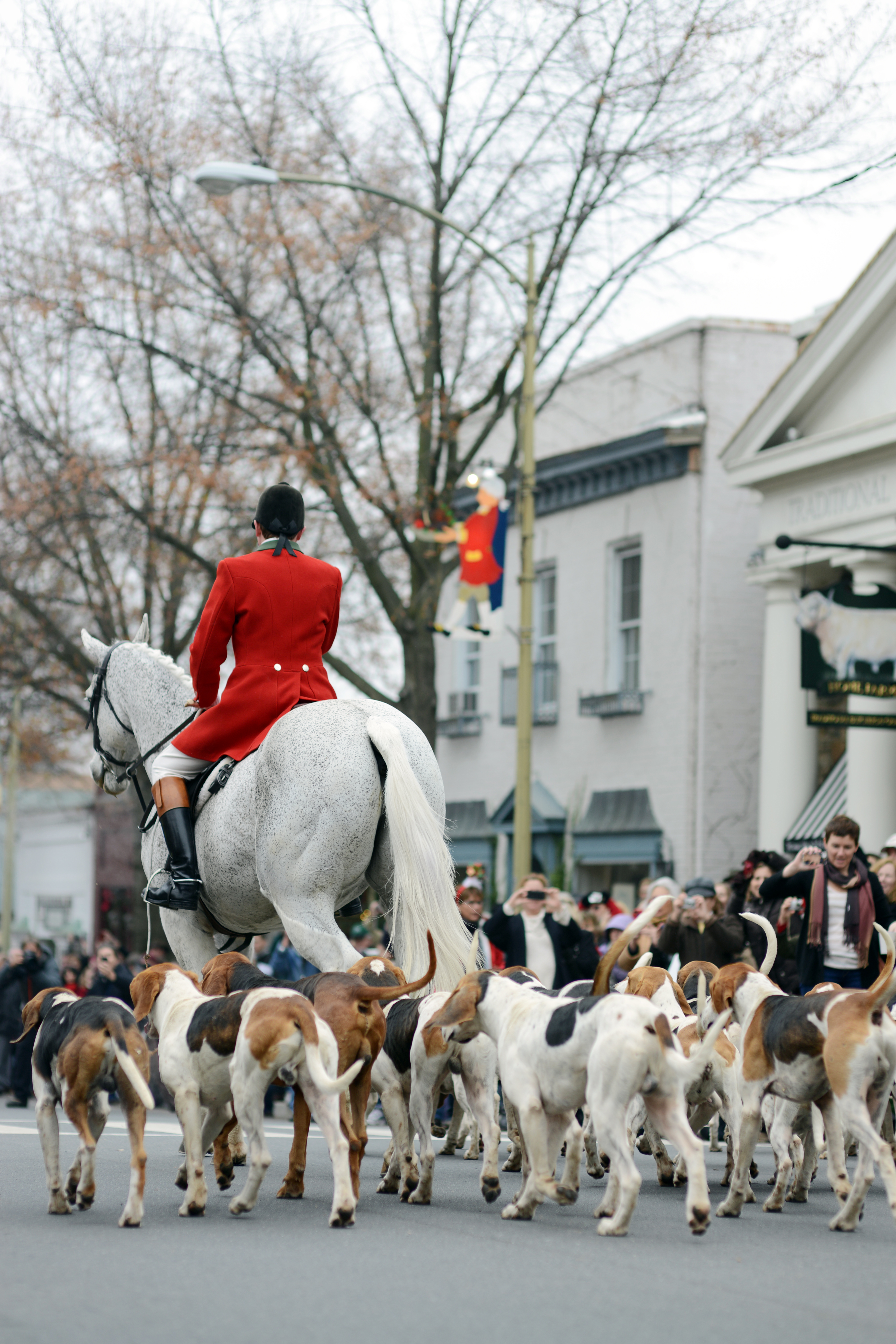 christmas in middleburg hunt parade leaving