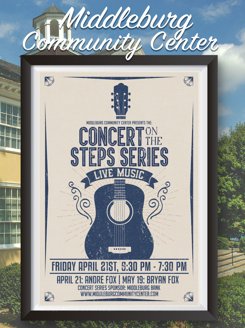 Middleburg Community Center Concert on the Steps 2017 Middleburg VA