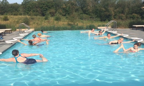 Salamander Resort Spa Middleburg VA Water Yoga