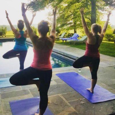 Goodstone Inn yoga Middleburg VA