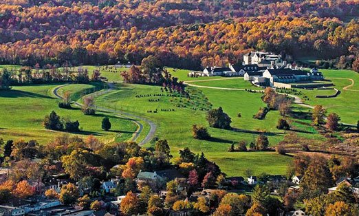 Salamander Resort & Spa Middleburg VA fall