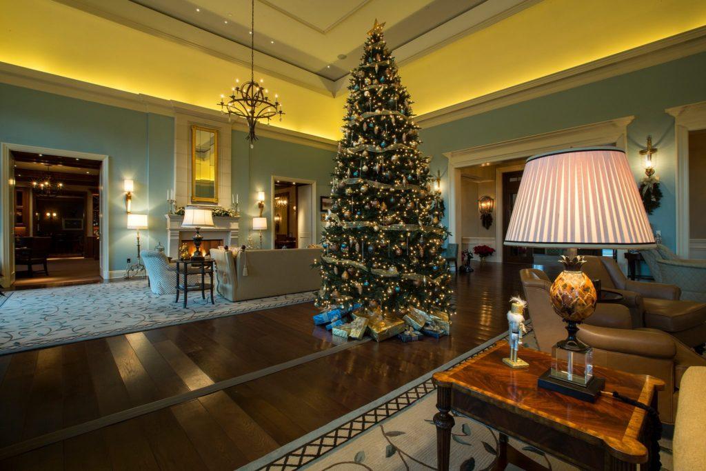 Christmas Tree Salamander Resort and Spa Middleburg VA