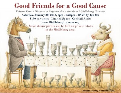 Middleburg Humane Foundation Dinners