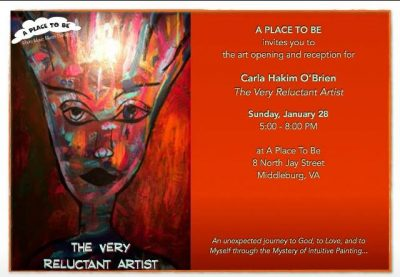 A Place to Be Middleburg VA Art Show