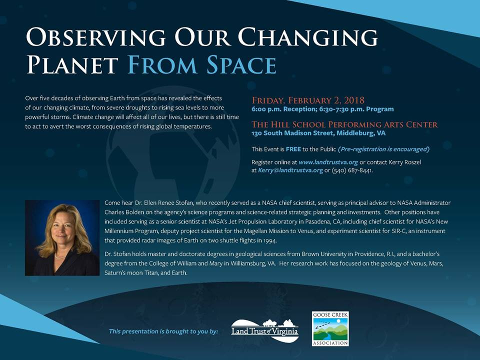 Observing Our Changing Planet