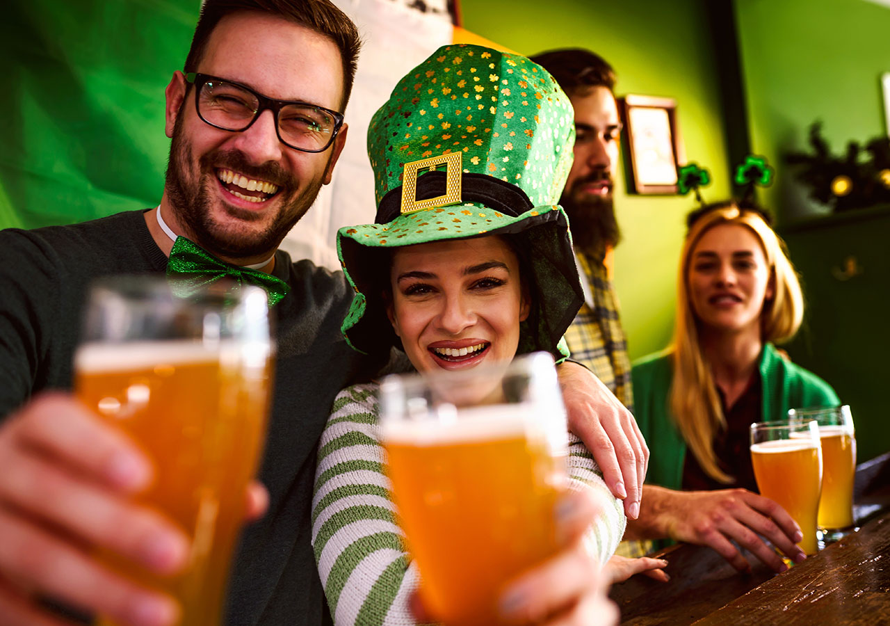Celebrate St. Patrick's Day in Middleburg, Virginia