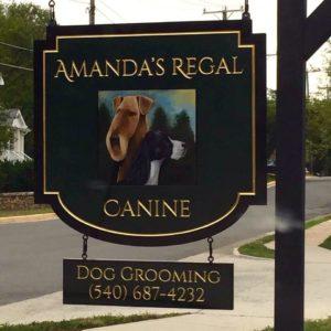 Amanda's Regal Canine